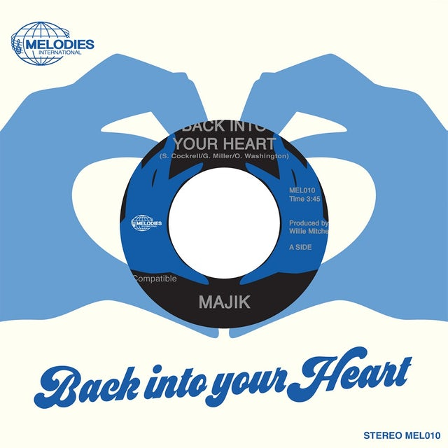 MAJIK BACK INTO YOUR HEART / DANCE DANCE DANCE Vinyl Record