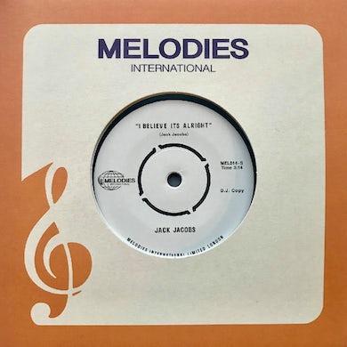 I BELIEVE IT'S ALRIGHT Vinyl Record