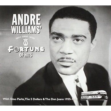 Andre Williams FORTUNE OF HITS CD