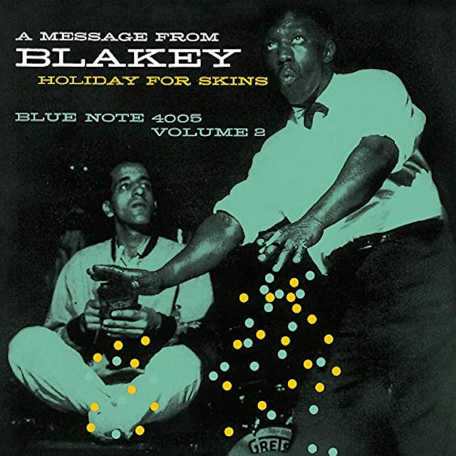 Art Blakey HOLIDAY FOR SKINS VOLUME 2 CD