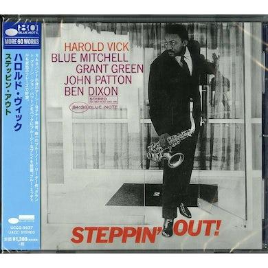 Harold Vick STEPPIN OUT CD