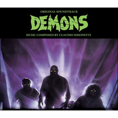 Claudio Simonetti DEMONS - ORIGINAL SOUNDTRACK CD