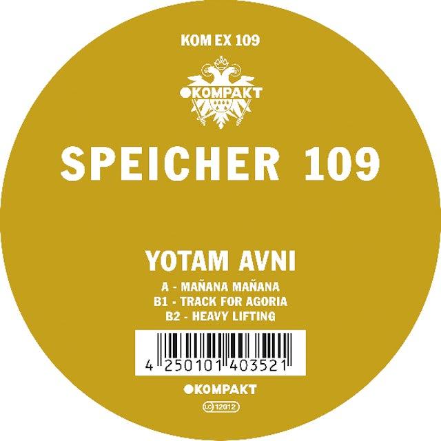 Yotam Avni SPEICHER 109 Vinyl Record