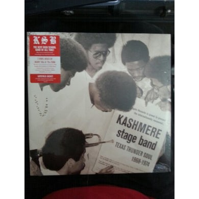 Kashmere Stage Band TEXAS THUNDER SOUL 1968-1974 Vinyl Record
