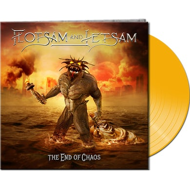 Flotsam & Jetsam THE END OF CHAOS Vinyl Record