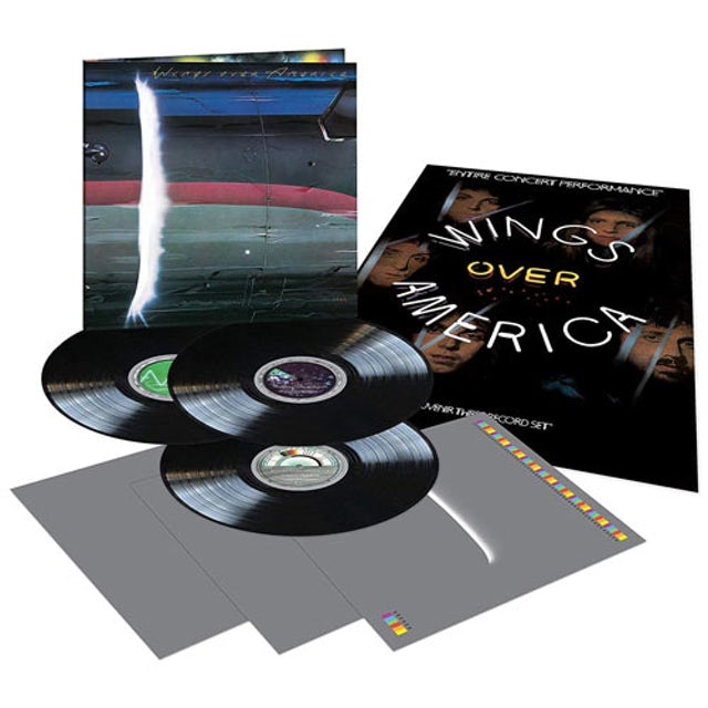 Paul McCartney & Wings OVER AMERICA Vinyl Record