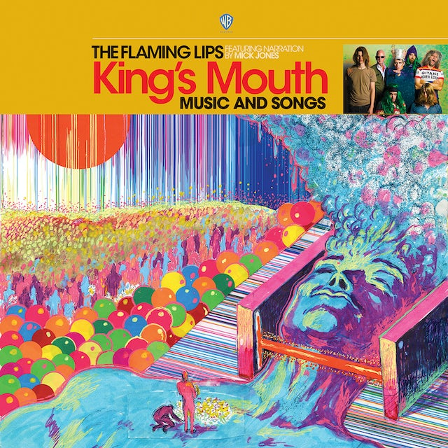 The Flaming Lips KING'S MOUTH Vinyl Record