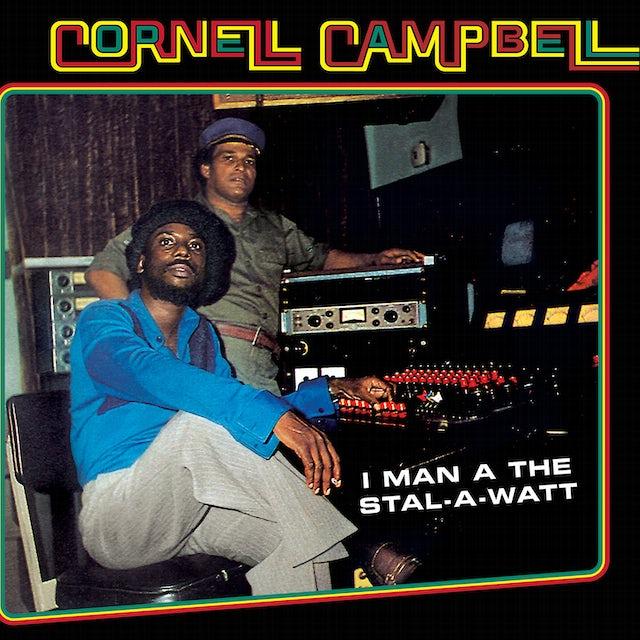 Cornell Campbell I MAN A THE STAL-A-WATT Vinyl Record