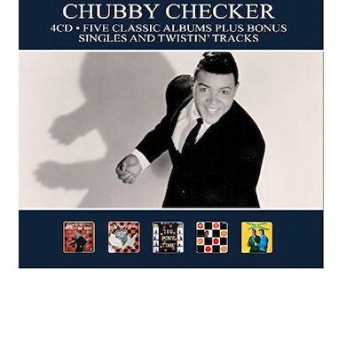 Chubby Checker 5 CLASSIC ALBUMS PLUS BONUS SINGLES & TWISTIN CD