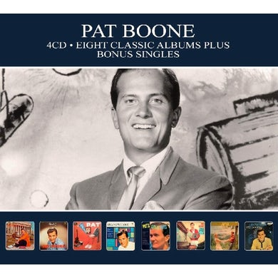 Pat Boone 8 CLASSIC ALBUMS PLUS BONUS SINGLES CD