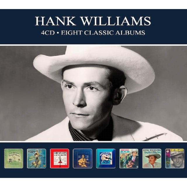 Hank Williams 8 CLASSIC ALBUMS CD
