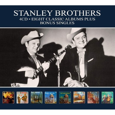Stanley Brothers 8 CLASSIC ALBUMS CD