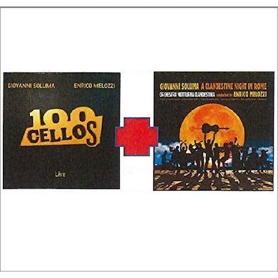 Giovanni Sollima 100 CELLOS & A CLANTESTINE NIGHT IN ROME CD