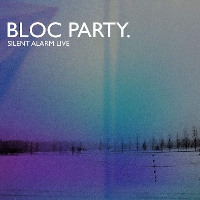 Bloc Party SILENT ALARM LIVE Vinyl Record