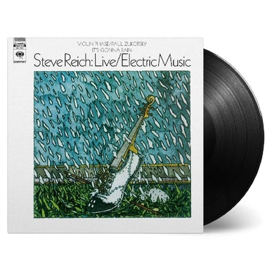 Steve Reich LIVE / ELECTRIC MUSIC Vinyl Record