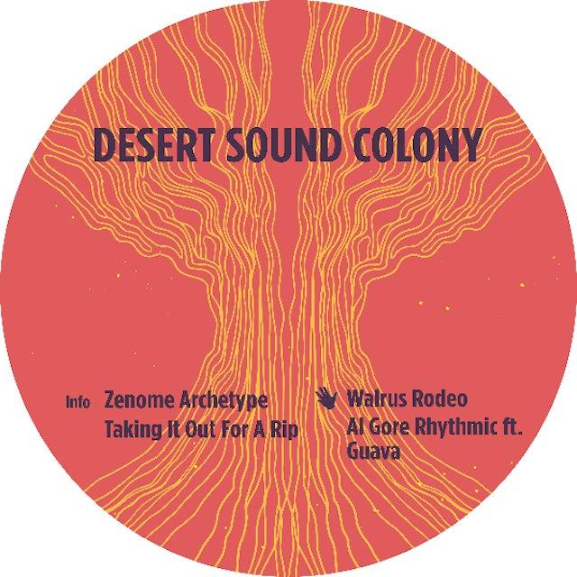 Desert Sound Colony ZENOME ARCHETYPE Vinyl Record