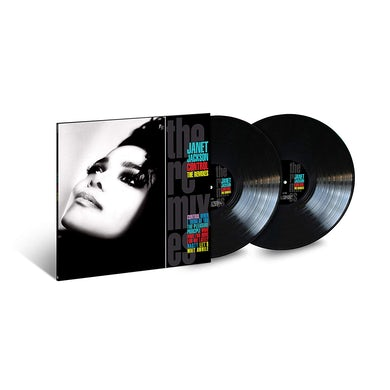 Janet Jackson CONTROL: THE REMIXES Vinyl Record