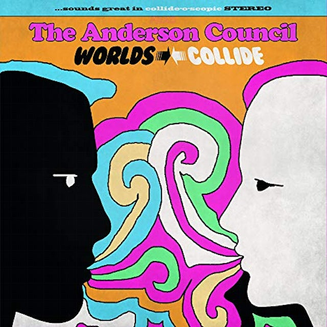 ANDERSON COUNCIL WORLDS COLLIDE CD