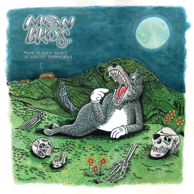 MOON BROS THE EASY WAY IS HARD ENOUGH CD