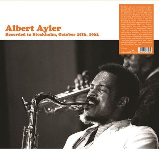 Albert Ayler RECORDED IN STOCKHOLM Vinyl Record