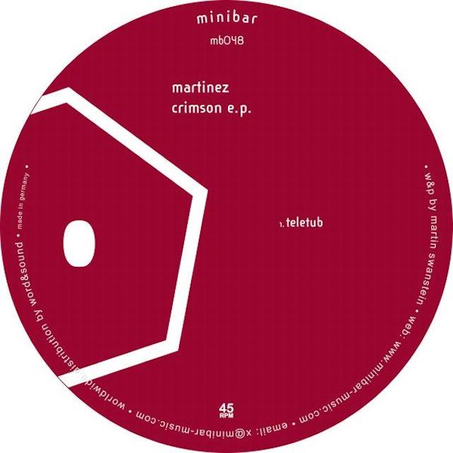 Martinez CRIMSON Vinyl Record