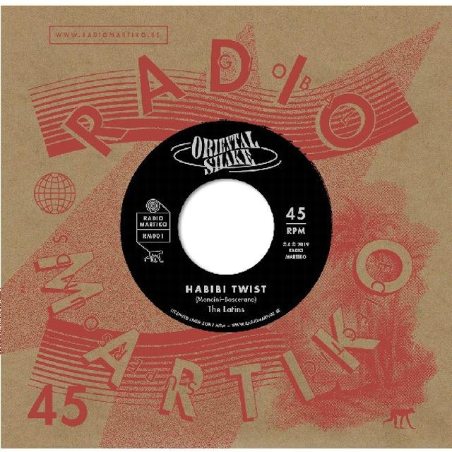 Latins / Alba / Orchestre Aris HABIBI TWIST / ALBA'S SHAKE Vinyl Record