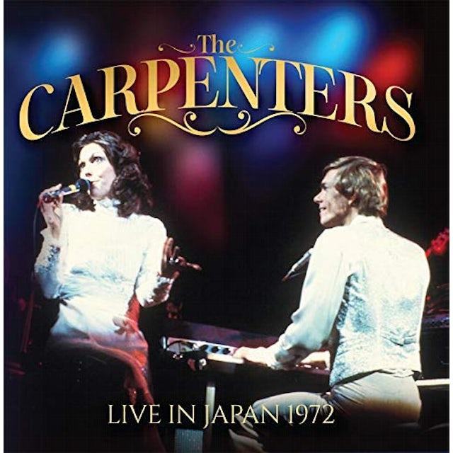 Carpenters LIVE IN JAPAN 1972 CD