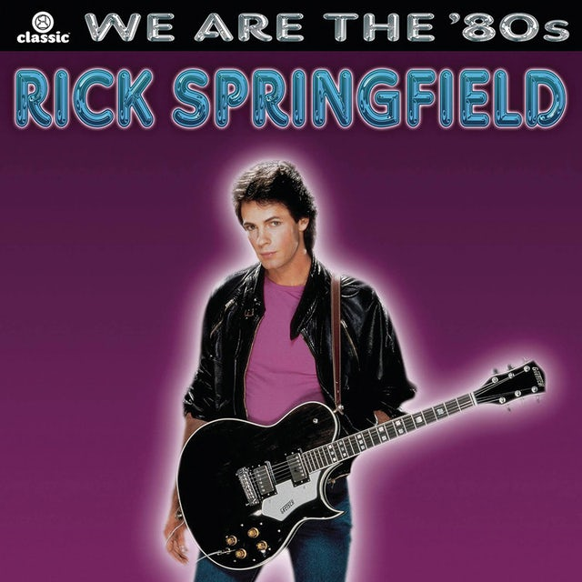Rick Springfield WE ARE THE 80'S CD