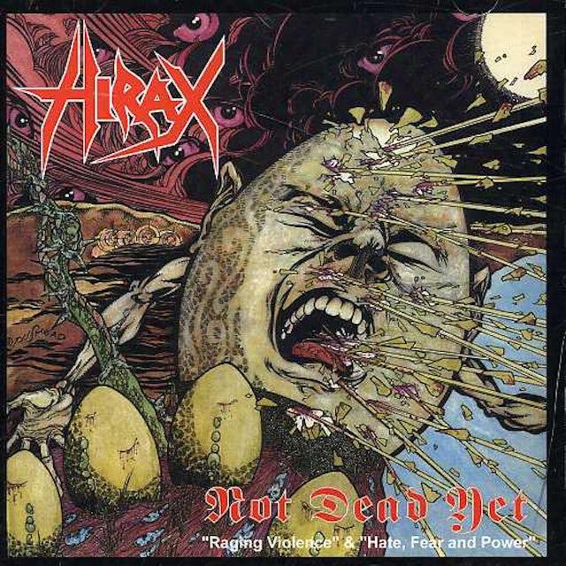 Hirax NOT DEAD YET & 1 CD