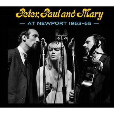 PETER PAUL & MARY AT NEWPORT 63-65 CD