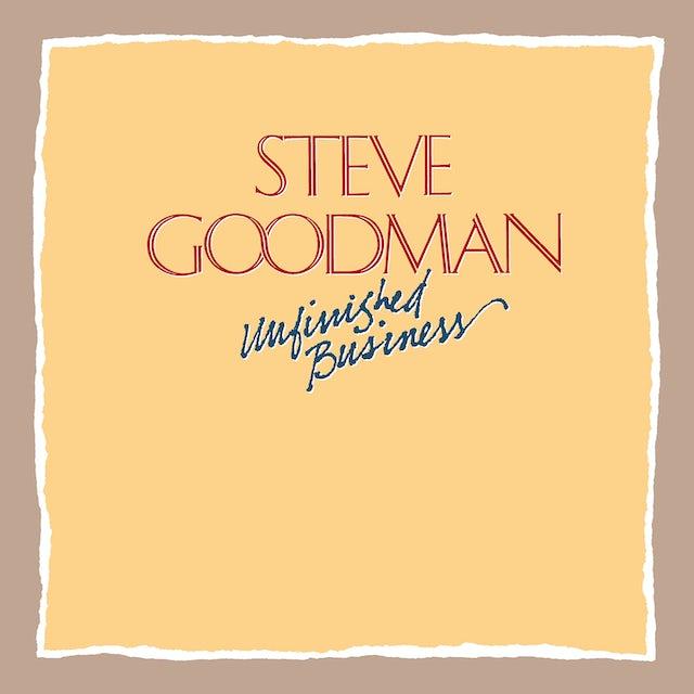 Steve Goodman UNFINISHED BUSINESS CD