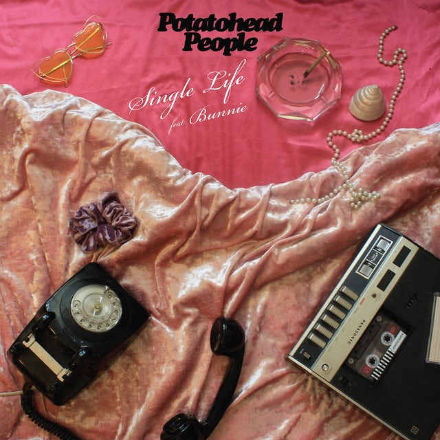 Potatohead People SINGLE LIFE FT. BUNNIE / INSTRUMENTAL Vinyl Record
