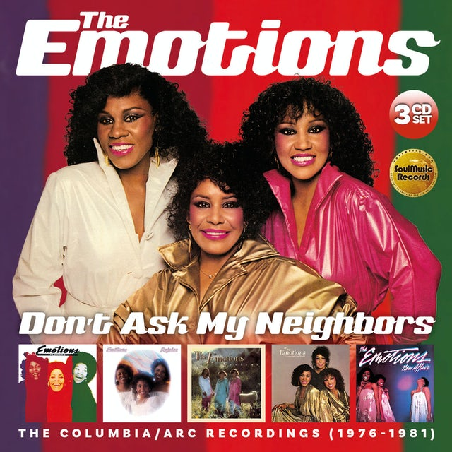 Emotions DON'T ASK MY NEIGHBORS: COLUMBIA / ARC RECORDINGS CD