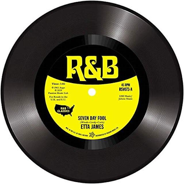Etta James SEVEN DAY FOOL Vinyl Record