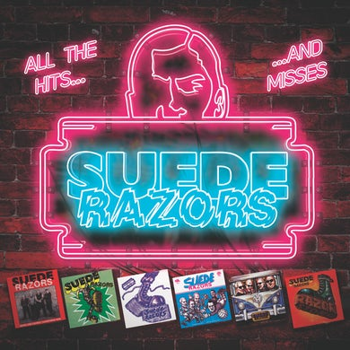 Suede Razors ALL THE HITS... Vinyl Record - Colored Vinyl