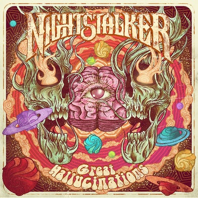 Nightstalker GREAT HALLUCINATIONS Vinyl Record