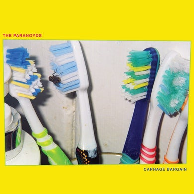 Paranoyds CARNAGE BARGAIN (OPAQUE BLUE VINYL) Vinyl Record