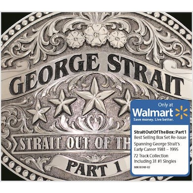 George Strait STRAIT OUT OF THE BOX PART 1 CD