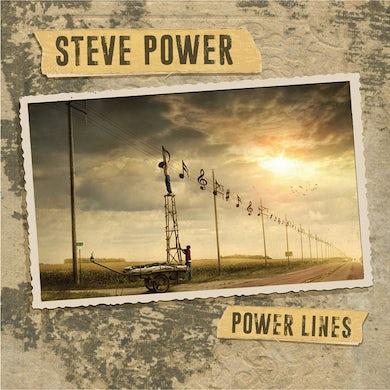 Steve Power POWER LINES Vinyl Record