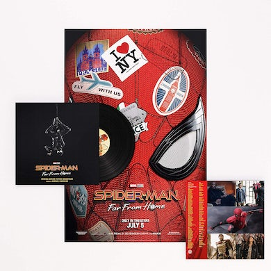 SPIDER-MAN: FAR FROM HOME / Original Soundtrack Vinyl Record
