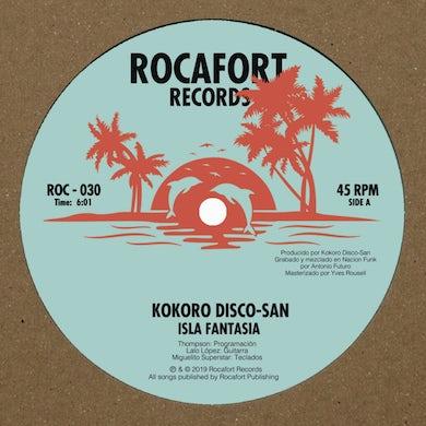 Kokoro Disco-San ISLA FANTASA / SONIC FEELING Vinyl Record
