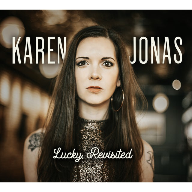 Karen Jonas LUCKY REVISITED CD