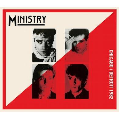 Ministry CHICAGO/DETROIT 1982 CD