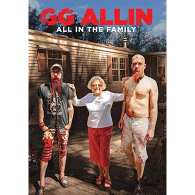 Gg Allin ALL IN THE FAMILY DVD