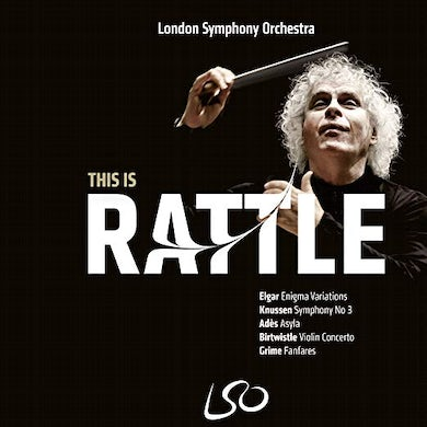 Sir Simon Rattle THIS IS RATTLE Blu-ray