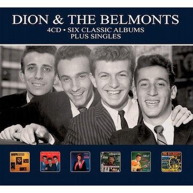 Dion & The Belmonts SIX CLASSIC ALBUMS PLUS SINGLES CD
