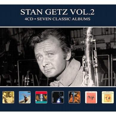 Stan Getz SEVEN CLASSIC ALBUMS VOL 2 CD