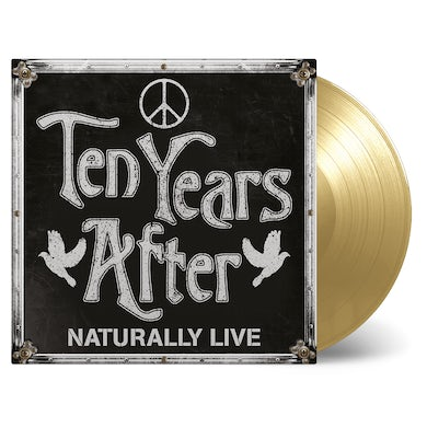Ten Years After NATURALLY LIVE Vinyl Record