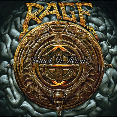 Rage BLACK IN MIND Vinyl Record