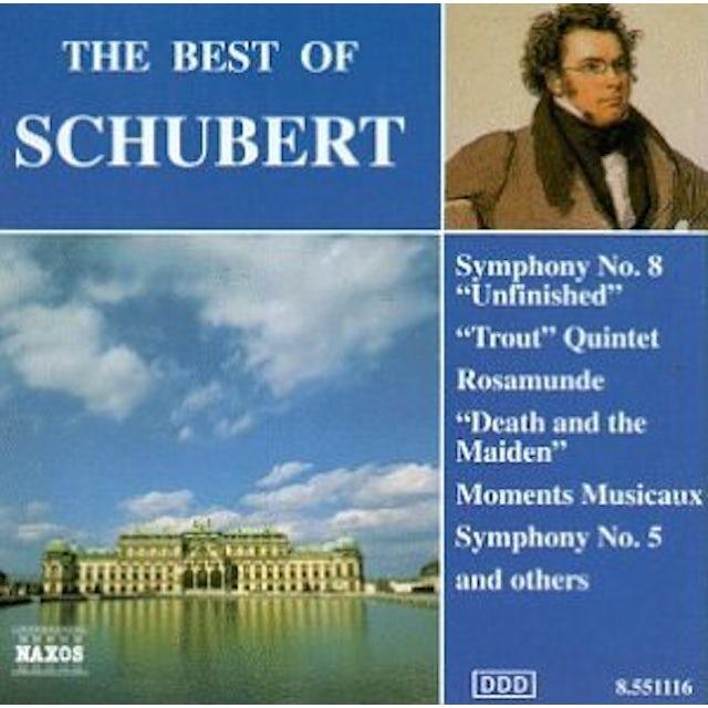 Schubert BEST OF CD
